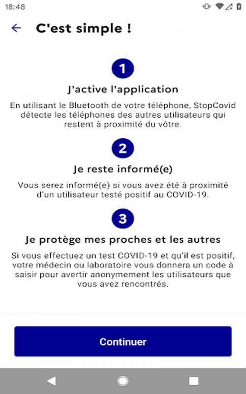 StopCovid France c