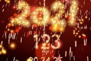 New Year 2021 countdown: compte à rebours