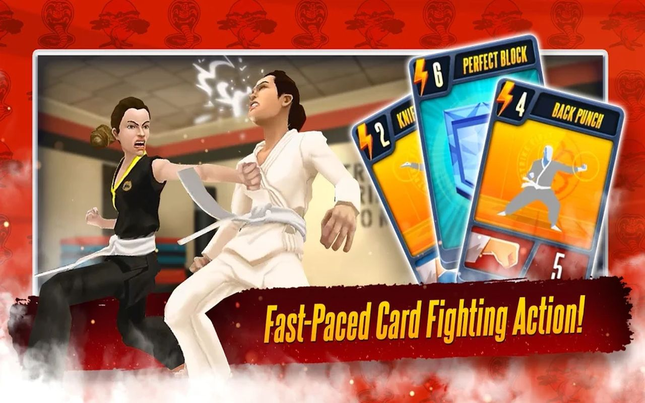Cobra Kai Combat cartes b