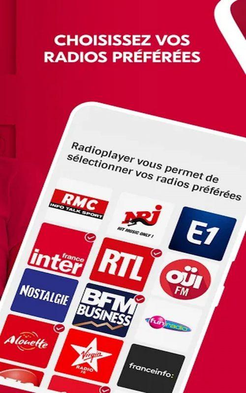 Radioplayer France podcasts b