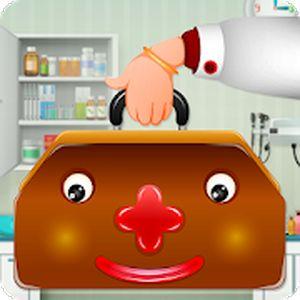 Le jeu de docteur pour les enfants avec les parents !