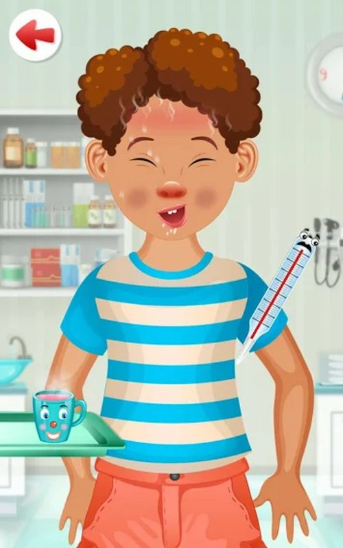 jeu docteur enfants c
