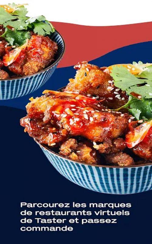 taster street food b