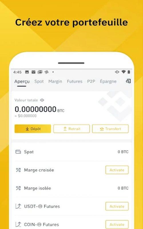 Binance plateforme échange cryptomonnaies b