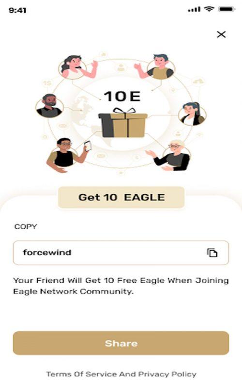 Eagle Network cryptomonnaie c