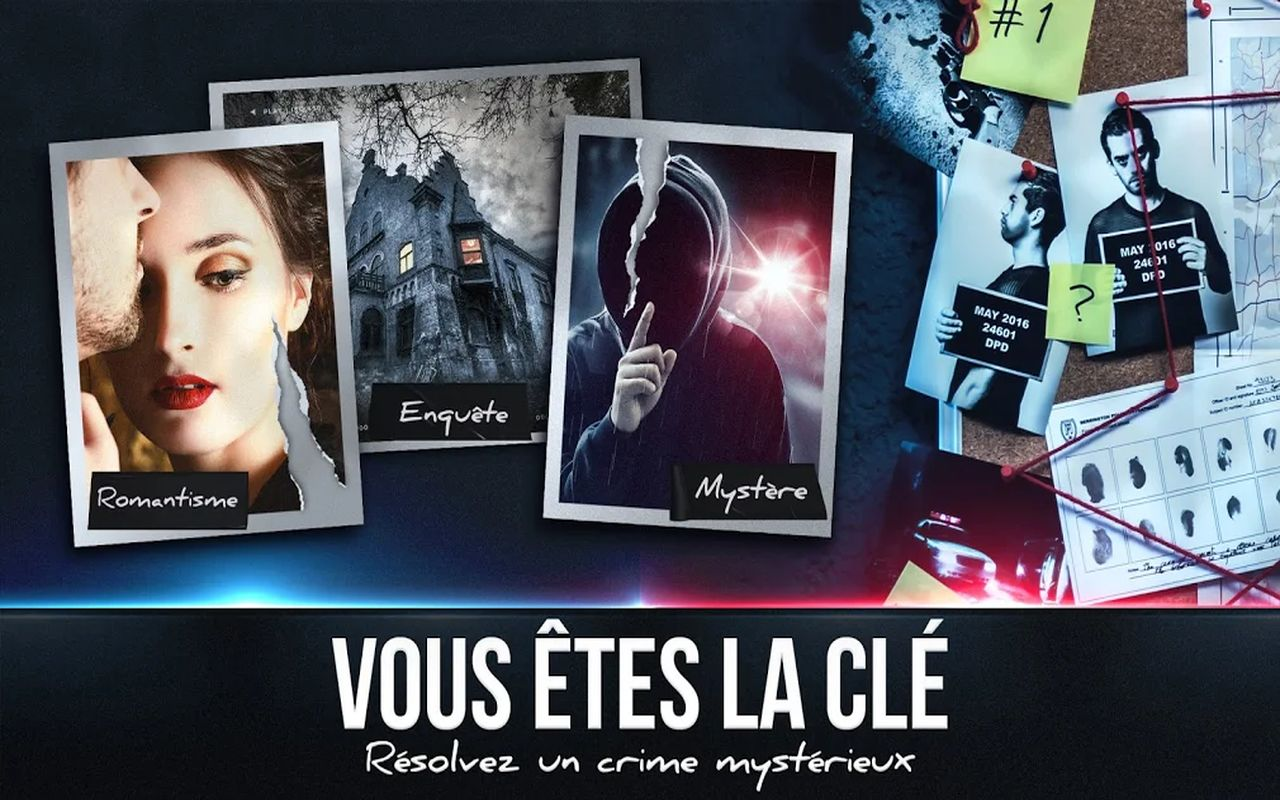 thriller interactif Duskwood b