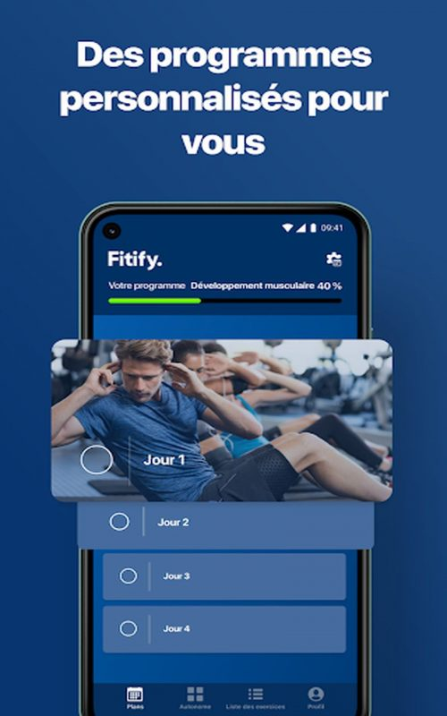 Fitify forme maison c