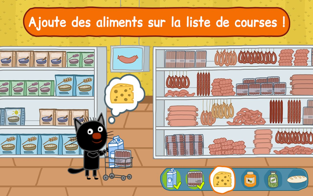 Famille Chat Jeu Magasin c